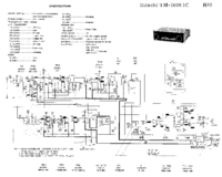 Cirquit Diagramma Hitachi TM-1000 1C