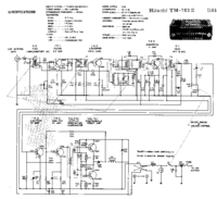Cirquit Diagramma Hitachi TM-702E
