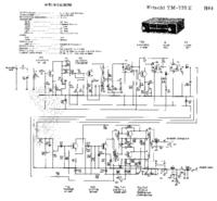 Cirquit diagramu Hitachi TM-735E
