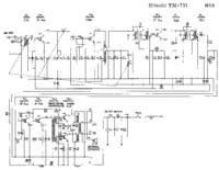 Manual de serviço Hitachi TM-737
