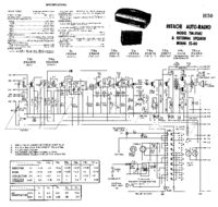 Cirquit Diagramma Hitachi TM-816U