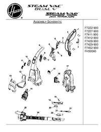Service Manual Hoover F7428-900