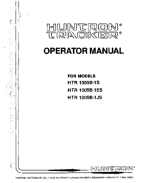 Huntron-5657-Manual-Page-1-Picture