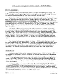 Instrukcja obsługi Hustler 4-BTV