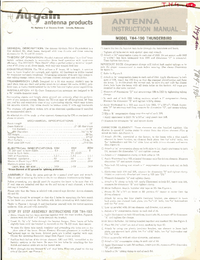 Hygain-6956-Manual-Page-1-Picture