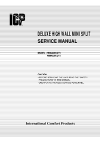 Service Manual ICP HMH036KDT1