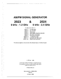 User Manual IFR 2024