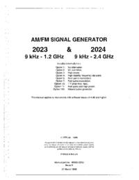 Bedienungsanleitung IFR 2023