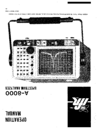 User Manual IFR A-8000