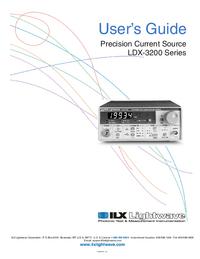 Instrukcja serwisowa ILX LDX-3200 Series