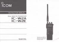 Servicehandboek Icom IC-W2A