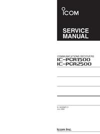 Instrukcja serwisowa Icom IC-PCR1500