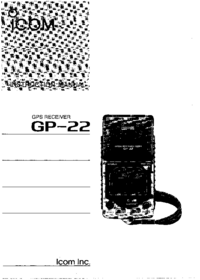 Manual del usuario Icom GP-22