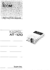 Manual do Usuário Icom AT-120