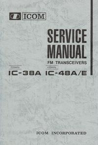 manuel de réparation Icom IC-48E