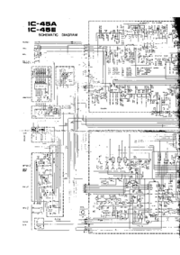 Cirquit diagramu Icom IC-45E