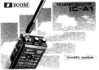 User Manual Icom IC-A1