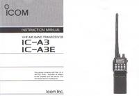 Manual del usuario Icom IC-A3 IC—ABE