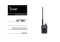 Руководство пользователя Icom IC-R5