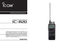 User Manual Icom iC-r20