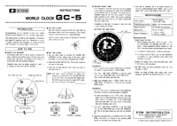 User Manual Icom GC-5