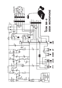 Diagrama cirquit Icom SM-8