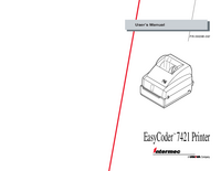 User Manual Intermec EasyCoder 7421
