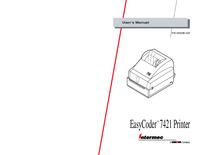 Manuale d'uso Intermec EasyCoder 7421