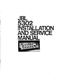 manuel de réparation JBL 5302