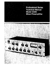 Manual de servicio JBL 5306