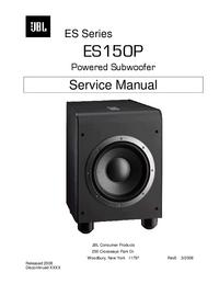 Instrukcja serwisowa JBL ES150P