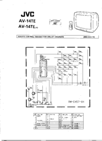 Cirquit Diagramma JVC AV-14TE