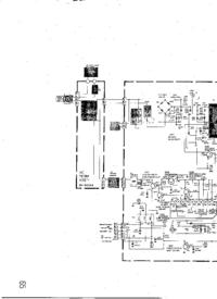 Cirquit Diagram JVC AV-20ME