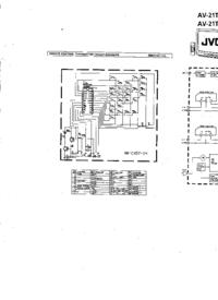 Cirquit Diagramma JVC AV-21TE
