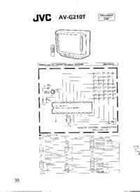 Cirquit Diagramma JVC AV-G210T