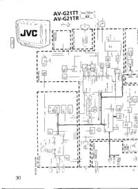 Schaltplan JVC AV-G21TT