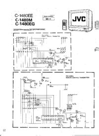 Cirquit Diagram JVC C-1480M