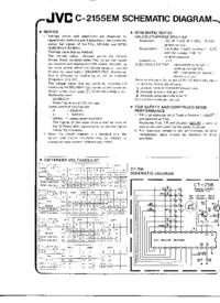 Cirquit Diagram JVC C-2155EM