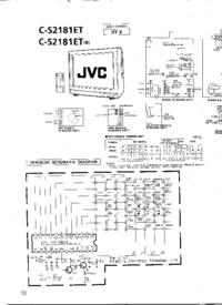 Cirquit Diagramma JVC C-S2181ET