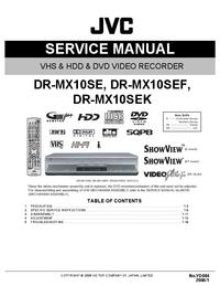 manuel de réparation JVC DR-MX10SEK