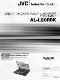 User Manual JVC AL-L20RBK