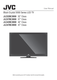 User Manual JVC JLC37BC3000
