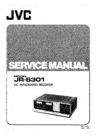 Service Manual JVC JR-S301