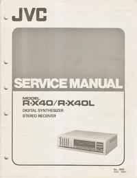 manuel de réparation JVC R-X40L