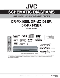 Cirquit Diagramma JVC DR-MX10SE