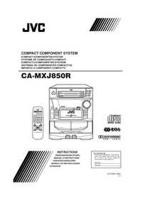 User Manual JVC CA-MXJ850R