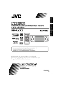 Manual del usuario JVC KD-AVX2