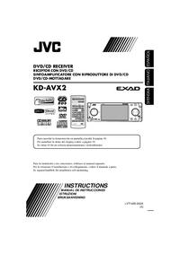 Bedienungsanleitung JVC KD-AVX2