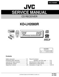 Manual de servicio JVC KD-LH2000R
