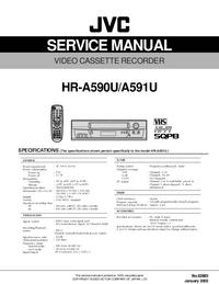 Manuale di servizio JVC HR-A590U